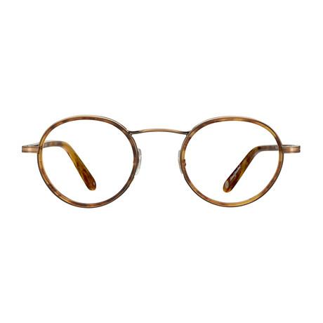 Unisex Penmar Optical Frames // Antique Gold + Matte Pinewood