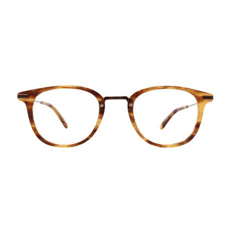 Unisex Kinney Combo Optical Frames // Matte Pinewood