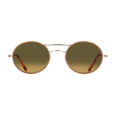 Unisex Sanborn Sunglasses // Camel Gold + Hazel Gradient