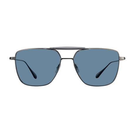 Unisex Convoy Sunglasses // Gunmetal + Marine