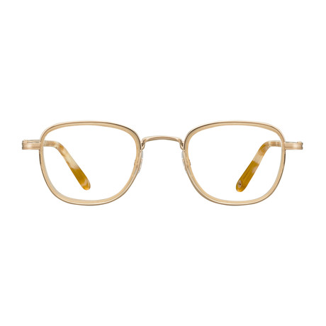 Unisex Garfield Optical Frames // Matte Gold