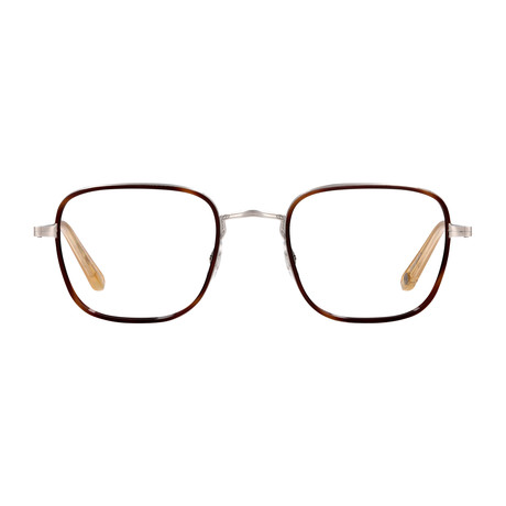 Unisex Preston Optical Frames // Sienna Tortoise + Silver Blonde