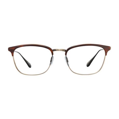 Unisex Talbert Optical Frames // Whiskey Tortoise + Antique Gold