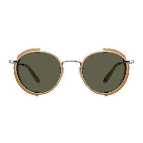Unisex Wilson Sun Shield Sunglasses // Cream + Gold