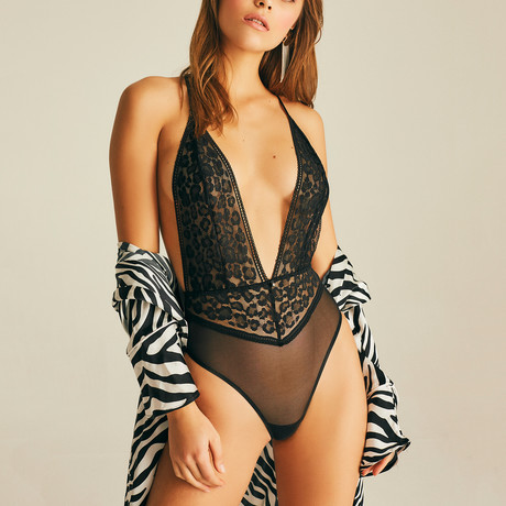 Claw Bodysuit // Black (XS)