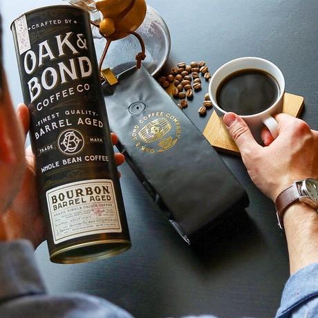 Bourbon Barrel Aged Coffee // Set of 2