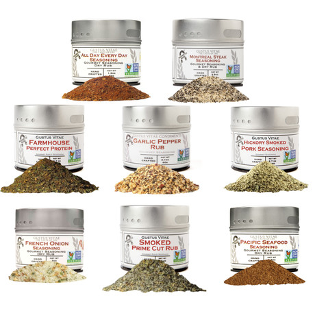 Gourmet Holiday Seasonings // Set of 8