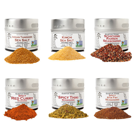 Authentic Asian Curry + Stir Fry Collection // Set of 6