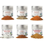 Taste of the World // Perfect Proteins // Set of 6