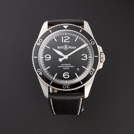Bell & Ross Vintage Automatic // BRV292-BL-ST/SCA // Pre-Owned