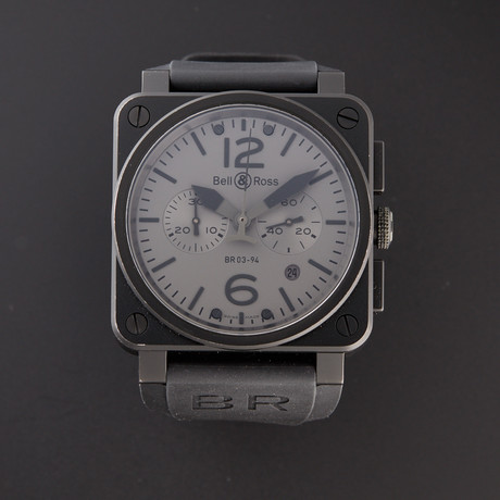 Bell & Ross Chronograph Automatic // BR03-94-COMMANDO // Pre-Owned