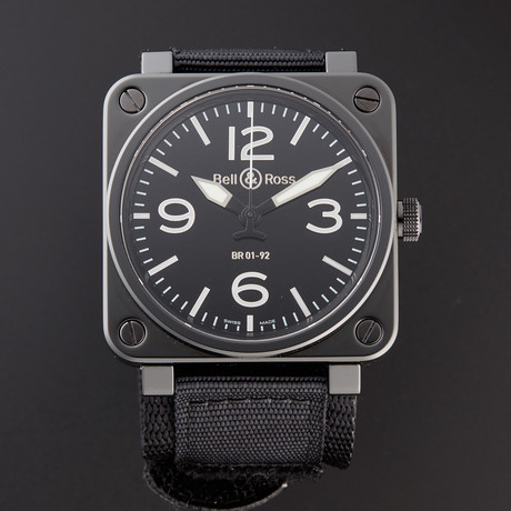 Bell & Ross Automatic // BR01-92-CB // Pre-Owned