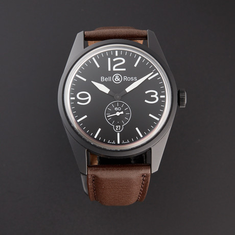 Bell & Ross Automatic // BRV123-BL-CA/SCA/2 // Pre-Owned
