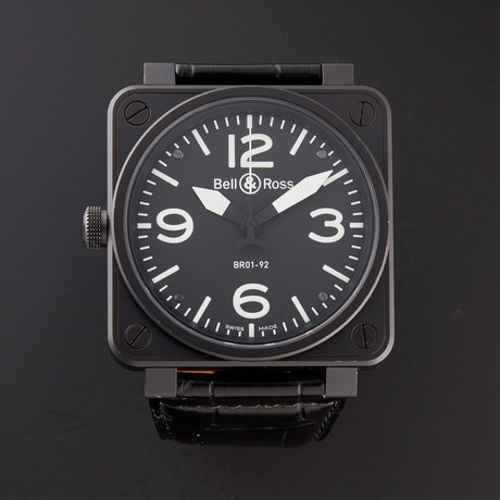 Bell & Ross Automatic // BR01-92-GAUCHER // Pre-Owned