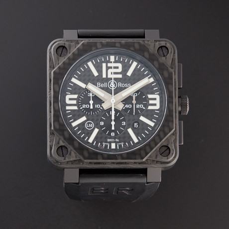 Bell & Ross Chronograph Automatic // BR01-94-CARBON // Pre-Owned