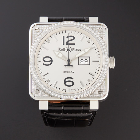 Bell & Ross Grand Date Automatic // BR0196-TOP DIAMOND // Pre-Owned