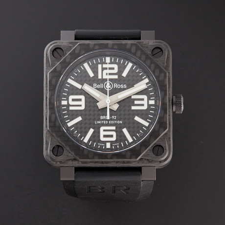 Bell & Ross Automatic // BR01-92-CA FIBER // Pre-Owned