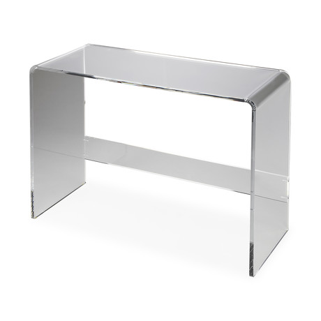 Roskilde Acrylic Console Table
