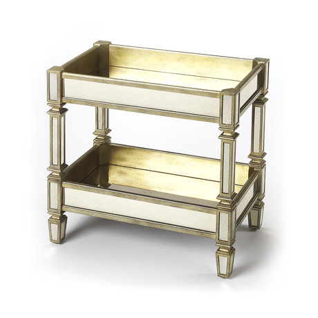 Francois Mirrored Serving Table