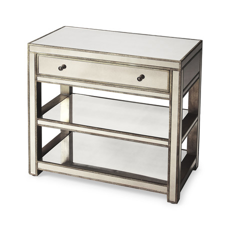 Alcide Mirrored Console Table