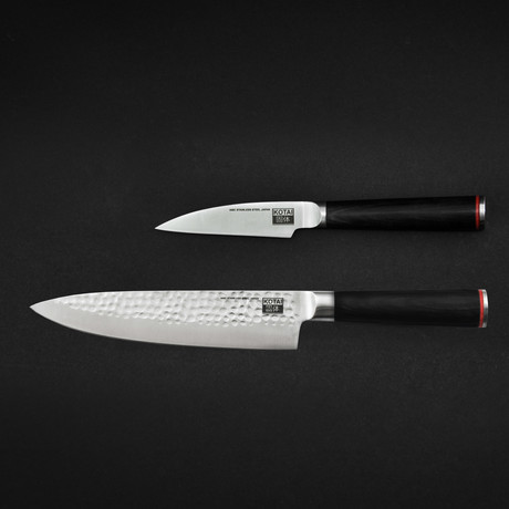 Essential Set // Hammered Gyuto + Paring Knife