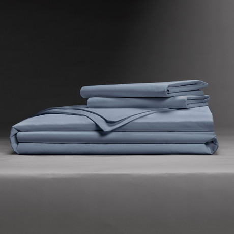 Luxe Soft + Smooth Tencel™ Duvet Cover Set // Cadet Blue (Full/Queen)