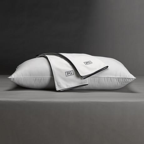 100% Cotton Sateen Pillow Protector // Set of 2 (Standard/Queen)