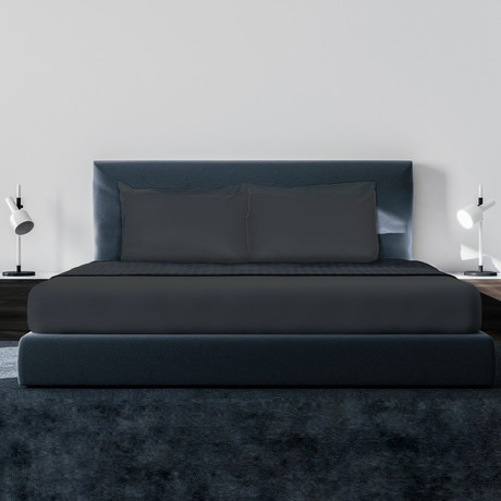 Luxe Soft & Smooth TENCEL™// 6-Piece Sheet Set // Charcoal (King)