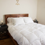 White Down Comforter Certified RDS (Full/Queen)