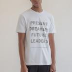 Future Leaders Tee // White (Small)