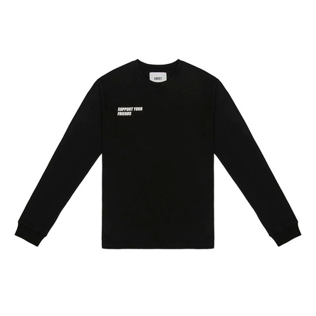 SYF Long Sleeve Tee // Black (Small)