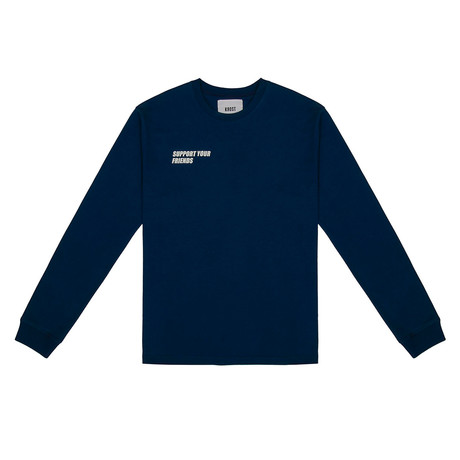SYF Long Sleeve Tee // Estate Blue (Small)