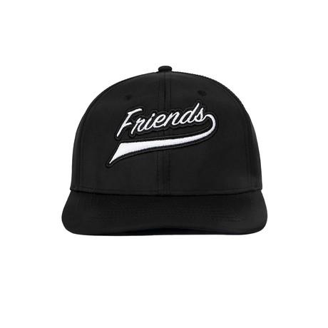 Team Friend Cap // Black