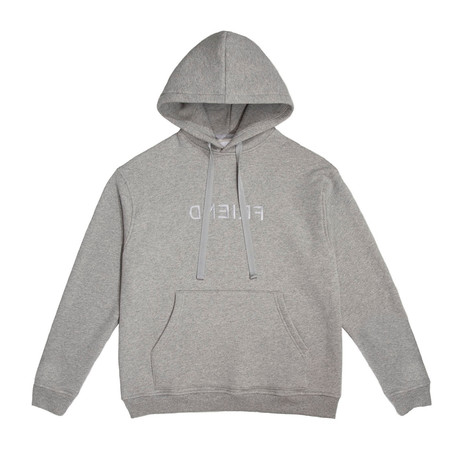 Friend Hoodie // Gray (Small)