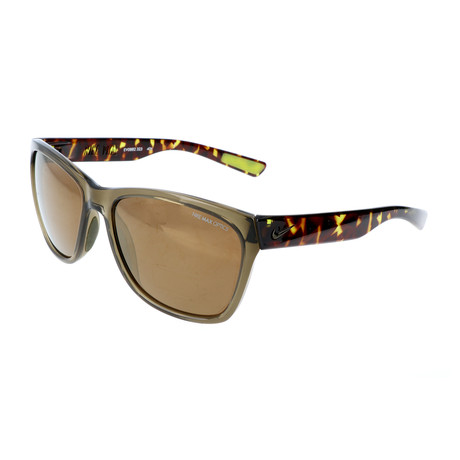 Nike // Unisex Vital Sunglasses // Green + Brown