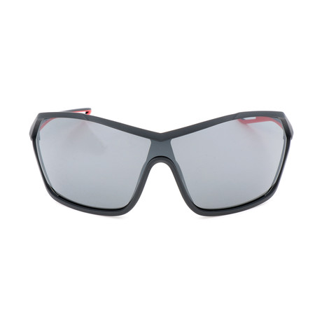 Unisex Helix Elite Sunglasses // Anthracite + Gray Silver