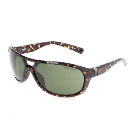 Nike // Unisex Miler Sunglasses // Tortoise + Green
