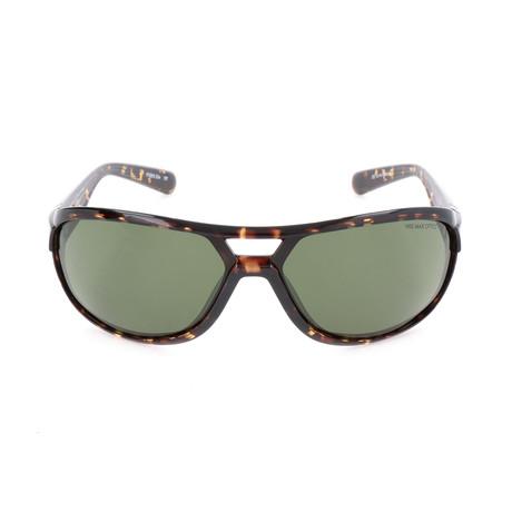Unisex Miler Sunglasses // Tortoise + Green