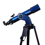 StarNavigator 102 Refractor Computerized Telescope + Smart Phone Adapter + Telescope Carry Bag