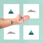 Geometric Hype // Pack of 4