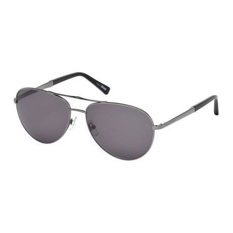 Men's EZ0035 Sunglasses // Shiny Dark Ruthenium
