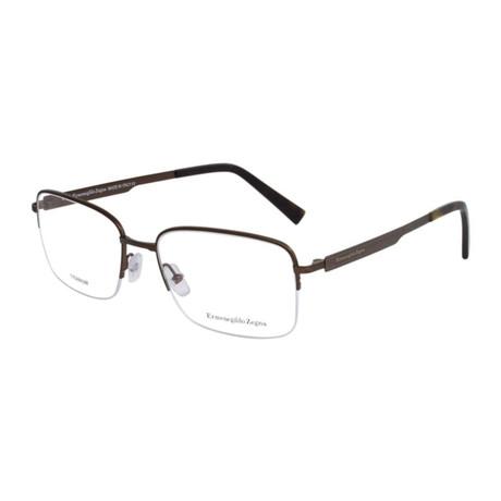 Men's EZ5025 Eyeglasses // Chocolate