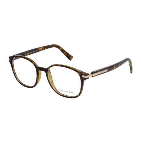 Men's EZ5004 Eyeglasses // Dark Havana
