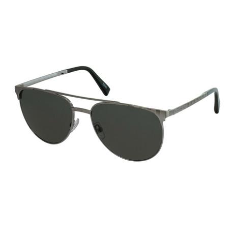 Men's EZ0040 Sunglasses // Shiny Dark Ruthenium