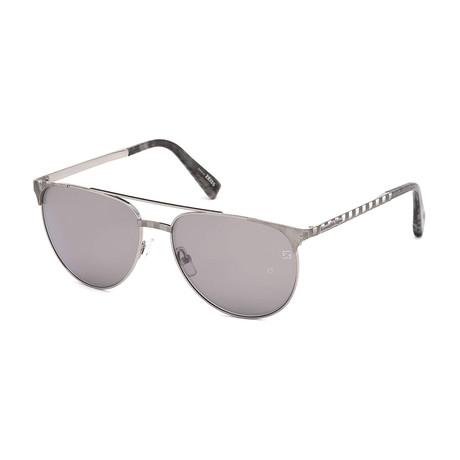 Men's EZ0040 Sunglasses // Shiny Light Ruthenium