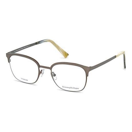 Men's EZ5038 Eyeglasses // Matte Gunmetal