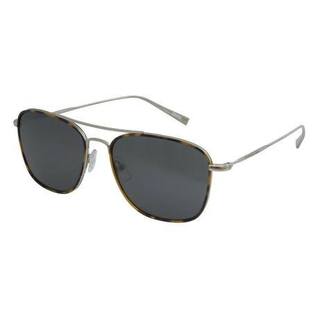 Men's EZ0052 Sunglasses // Shiny Light Ruthenium