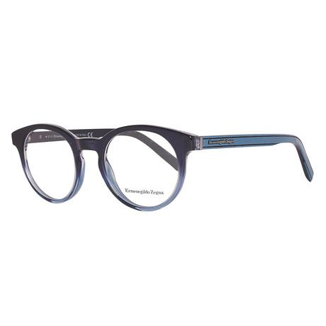 Men's EZ5024 Eyeglasses // Blue