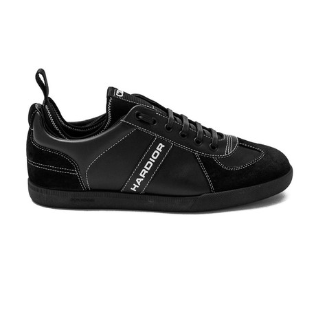 "Dior // ""HarDior"" Low-Top Sneakers // Black (US: 6)"