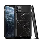 Damda Glide Shield // Black Marble (iPhone 11)